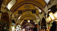 Stock Video Footage of Turkey Istanbul old town Sultanahmet Grand Bazaar