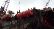Stock Video Footage of Pipe carrier-work-Audio-0186