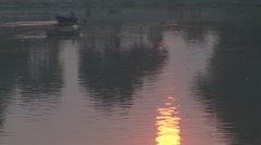 GangesSunset Stock Footage