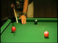 Man Playing Pool(HD)c Stock Footage