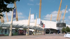 O2 Arena Greenwich Peninsula London 60I - stock footage