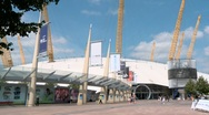 Stock Video Footage of O2 Arena Greenwich Peninsula London 60I