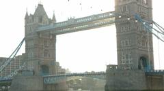 Tower Bridge London 60I - stock footage