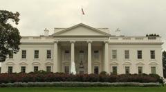 White House in Washington D.C. - stock footage
