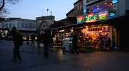 Stock Video Footage of Turkey Istanbul old town shop Grand Bazaar