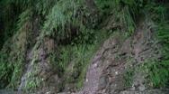Mountainous rocky water Stock Footage