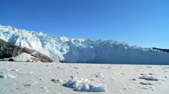 Large Arctic Glacier Stock Footage