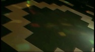 Bar floor and flashing lights (SD) k Stock Footage