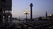 Venice, St. Mark's Square (Piazza San Marco), Piazzetta di San Marco Stock Footage
