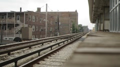Sub Rail Train II Stock Footage