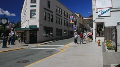 Juneau, joggers Stock Footage
