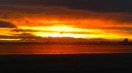 Sunset Beach Trance Stock Footage