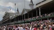 Stock Video Footage of Churchill Downs