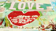 Salvation Mountain at Slab City- Niland, CA 2 - stock footage