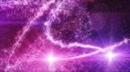 Sparkles light flying fairy dust loop Stock Footage