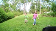 Cute Kids Playing 9 Stock Footage