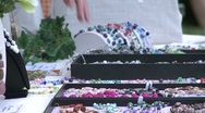 Stock Video Footage of Shoppers at a Craft Fair. (1 of 4)