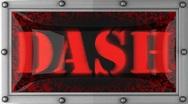 Dash on led Stock Footage