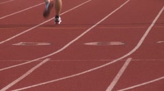 High school track. (2 of 5) - stock footage