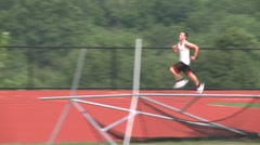 High school track. (3 of 5) Stock Footage