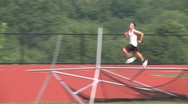 Stock Video Footage of High school track. (3 of 5)