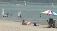 Stock Video Footage of People enjoying the water. (4 of 4)