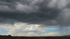 Storm Clouds Brew Time Lapse Stock Footage