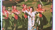 Stock Video Footage of Hawaiian Girls Hula Dance Dancers 1960s (Vintage Film 8mm Home Movie) 608