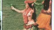 Stock Video Footage of Hawaiian Hula GIRLS Belly DANCING Dancer 1960s Vintage Film 8mm Home Movie 609
