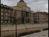 Sarajevo at war 4 Stock Footage