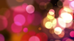 Defocus Abstract Background - Warm - Move and Rotate - Hot Pink Stock Footage