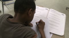Student taking test  (11 of 11) - stock footage