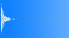 CARDBOARD, HIT - sound effect