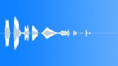 CARTOON, GROAN - sound effect