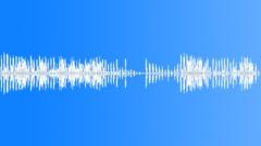 CARTOON, WARBLE - sound effect