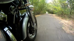 Chopper whell - stock footage