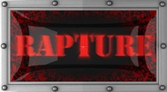 Stock Video Footage of rapture on led