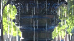 Water Fountain - stock footage