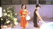 Stock Video Footage of Thai Women Circa 1965 (Vintage Film Home Movie Footage) 688