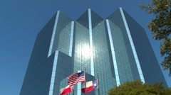 Business Corporate Building in Texas - stock footage