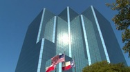 Business Corporate Building in Texas Stock Footage