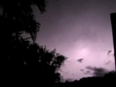 Stock Video Footage of Thunderstorm Tropical Lightning 4xThunderstorm cloud to cloud lightning 4x3 V2