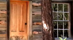 Wood Cabin - stock footage