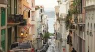 Stock Video Footage of Old city San juan Street