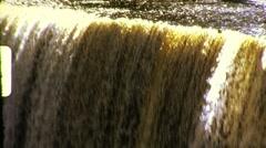 Waterfall Circa 1957 (Vintage Film Home Movie) 700 Stock Footage