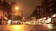 London night lights Stock Footage