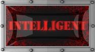 Intelligent on led Stock Footage