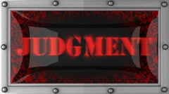 judgment on led - stock footage