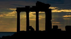 Stock Video Footage of Greece Agora 2