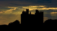 Irleand Bunratty Castle 1 Stock Footage